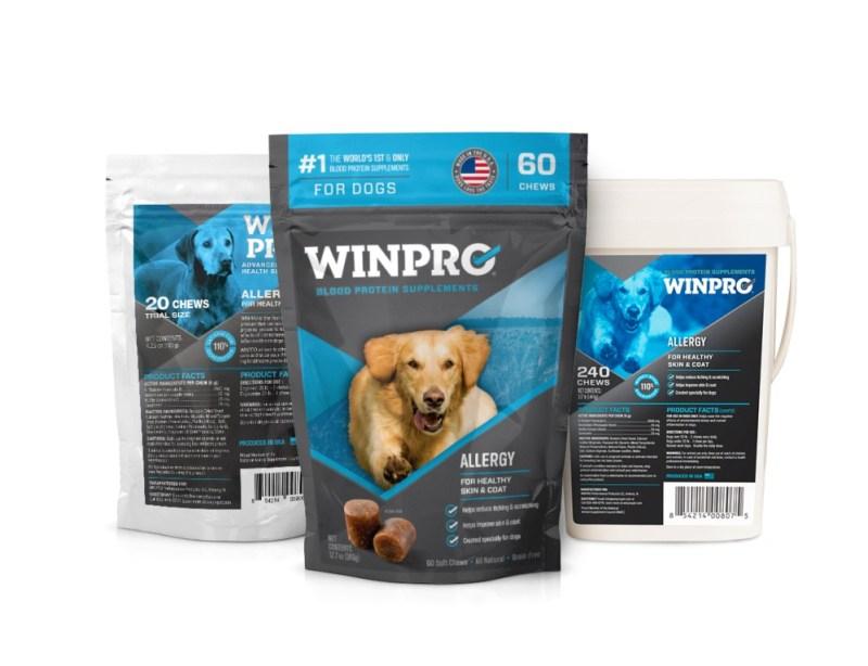 WINPRO allergies in dogs