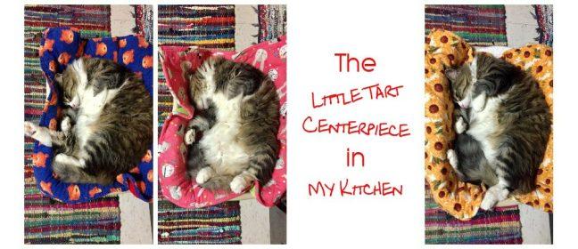 little tart centerpiece in my kitchen cover