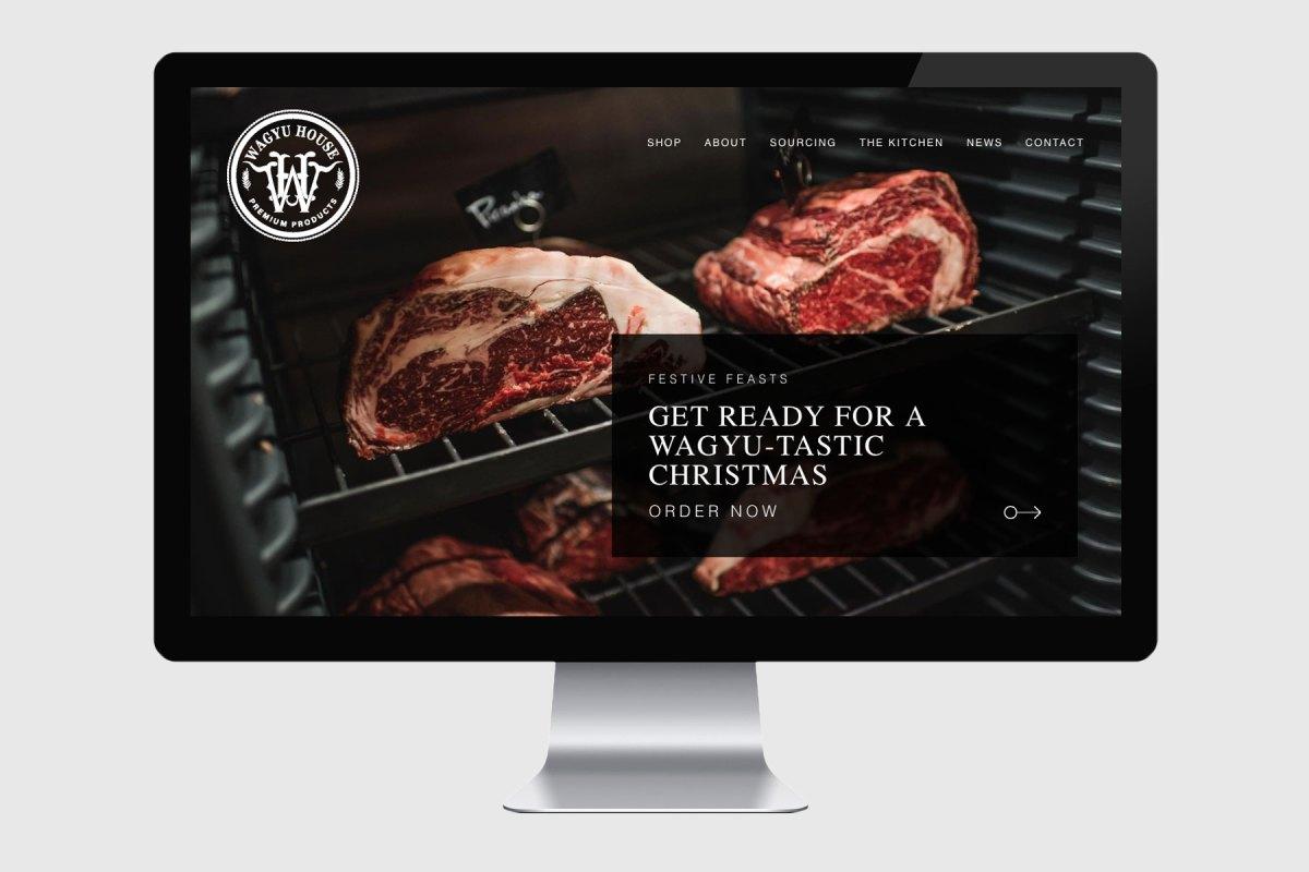 Wagyu House Website