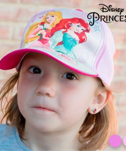 Boné Infantil Princesas
