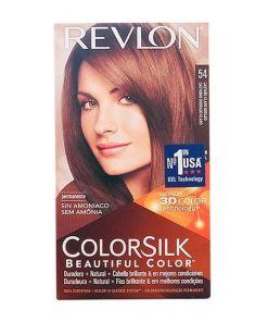 Tinta Sem Amoníaco Colorsilk Revlon Castanho claro dourado