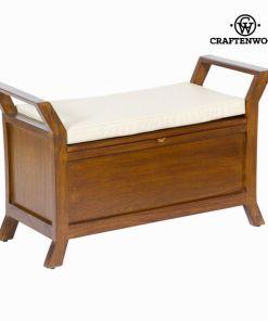 Mesa e cadeira estofada - Let's Deco Coleção by Craftenwood