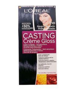 Tinta Sem Amoníaco Casting Creme Gloss L'Oreal Expert Professionnel Preto azulado