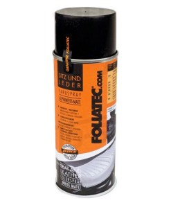 Tinta em spray Foliatec 2403 Couro Preto Acabamento brilhante (400 ml)