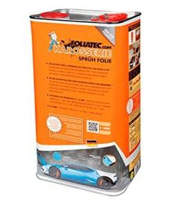 Borracha Líquida para Carros Foliatec Canister Transparente Brilhantes 5 L