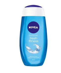 Gel de duche Fitness Fresh Nivea (250 ml)