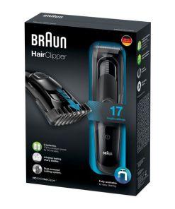 Aparadores de Cabelo Braun HC5050 40 min Preto