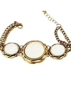 Bracelete feminino Cristian Lay 437080 (19 cm) |