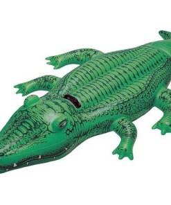 Figura Insuflável para Piscina Intex Crocodilo (168 X 86 cm)