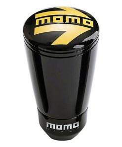 Botão de Alavanca de Câmbio Momo ALU SK-50 Preto