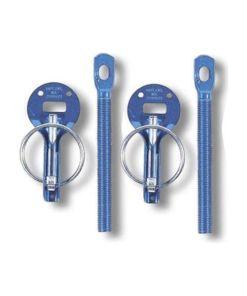 Fecho de tampa Sparco 01606AA Azul Molas