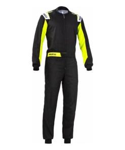 Mono Karting Sparco Rookie Amarelo Preto (Tamanho XXL)