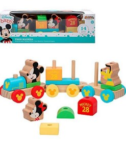 Comboio Mickey & Minnie 14 pcs 34 cm (18+ meses)