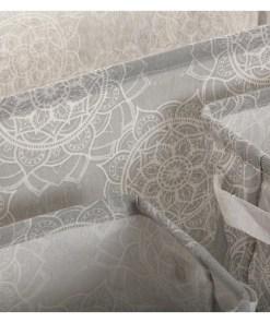 Conjunto de Cestas Mandala Têxtil Poliéster (3 Peças) (25 x 22 x 35 cm)