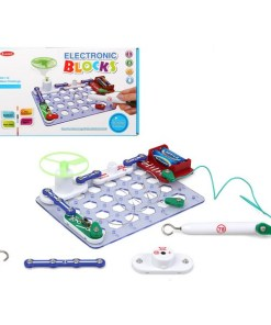 Jogo de Ciência Electronic Blocks 113814