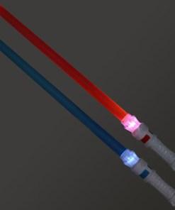 Espada Laser Azul Vermelho 111537 (2 Uds)