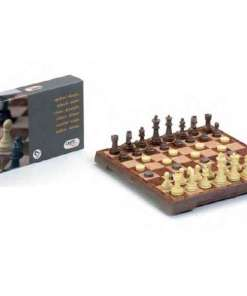Tabuleiro de Xadrez e Damas Cayro Magnético (24 X 24 cm)