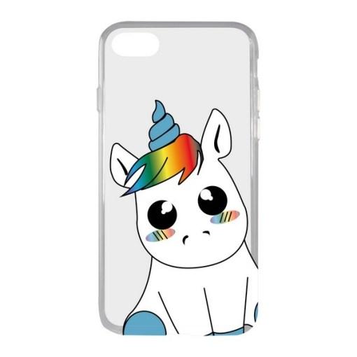 Capa para Telemóvel Iphone 7/8 KSIX Flex TPU Unicórnio