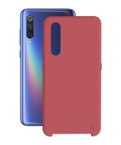 Capa para Telemóvel Xiaomi Mi 9 KSIX Soft Vermelho