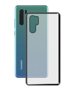 Capa para Telemóvel Huawei P30 Pro KSIX Flex Metal Cinzento