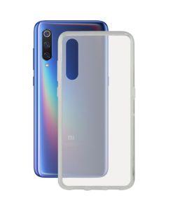 Capa para Telemóvel Xiaomi Mi 9 KSIX Flex TPU Transparente