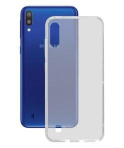 Capa para Telemóvel Samsung Galaxy M10 KSIX Flex TPU Transparente Flexível