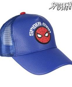Boné Infantil Spiderman 75317 Azul (53 Cm)