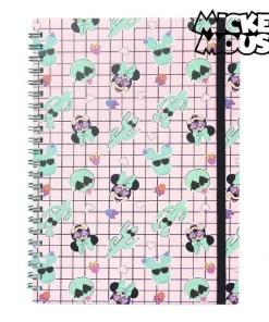 Caderno de Argolas Mickey Mouse