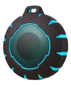 Altifalante Bluetooth sem fios Sunstech SPBTAQUA Waterproof USB 3W Preto Azul