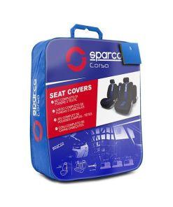 Coberturas de Assentos para Automóveis Sparco Classic Universal (11 pcs)