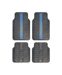 Conjunto de Tapetes de Carro Sparco SPC1913AZ Universal Preto/Azul (4 pcs)