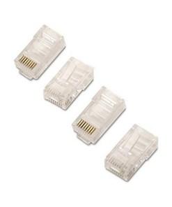 Conector RJ45 Categoria 6 UTP NANOCABLE 10.21.0201 (10 Pcs)