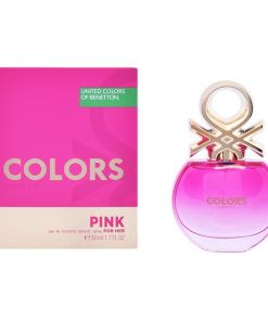 Perfume Mulher Colors Pink Benetton EDT (50 ml)