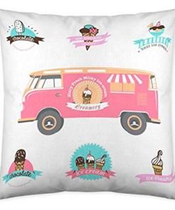 Capa de travesseiro Cool Kids Gelato (50 x 50 cm)