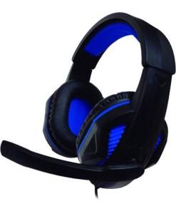 Auriculares com microfone para Vídeojogos Ps4/xbox Nuwa ST10 Preto Azul