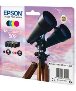 Cartucho de Tinta Original (pack de 4) Epson 502 Multipack 14,5 ml