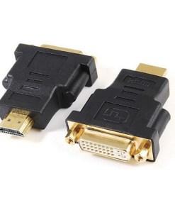 Adaptador HDMI para DVI GEMBIRD A-HDMI-DVI-3 Preto
