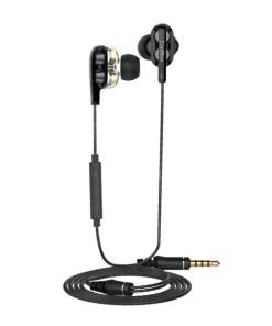 Auriculares com microfone CoolBox COO-AUR-S04DD Preto