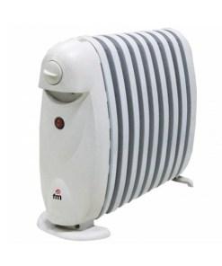 Radiador de Óleo (9 corpos) Grupo FM R9-MINI 800W Branco