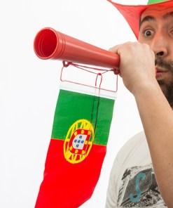 Trompete com a Bandeira de Portugal