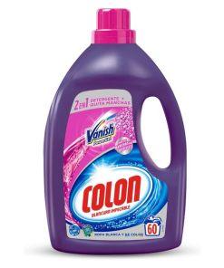 Detergente Líquido para a Roupa Colon Vanish Powergel (60 Doses)