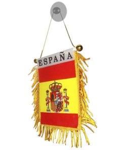 Bandeirola Espanhola com Botão de Sucção