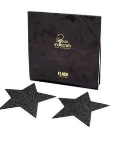 BIJOUX PEZONERAS FLASH STAR BLACK