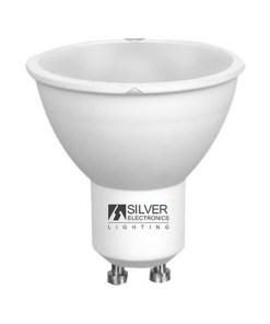 Lâmpada LED dicróica Silver Electronics ECO GU10 7W 6000K (Luz branca)