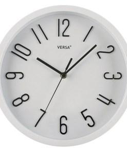 Relógio de Parede Plástico (4,6 x 30 x 30 cm)