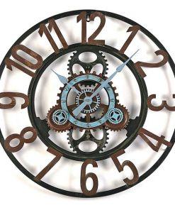 Relógio de Parede Metal (4,5 x 60 x 60 cm)