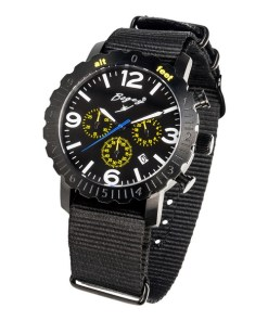 Relógio masculino Bogey BSFS004YLBK (44 mm)