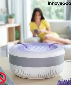 Lâmpada Antimosquitos por Sucção com Suporte de Parede KL Lite InnovaGoods