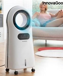 Climatizador por Evaporação sem Pás com LED O·Cool InnovaGoods 90W