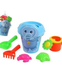Conjunto de brinquedos de praia Happy Elephant (7 pcs)
